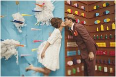 Playful Prints and Planes | http://brideandbreakfast.ph/2013/02/05/playful-prints-and-planes/ | Photographer: Cherryblocks
