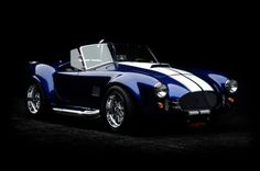 1965 Factory Five Shelby Cobra Re-creation Roadster.
