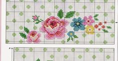 Cross Stitch Rose, Cross Stitch Flowers, Cross Stitch Charts, Cross Stitch Designs, Cross Stitch Patterns, Christmas Embroidery Patterns, Rico Design, Cross Stitching, Needlepoint
