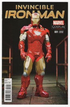 Invincible Iron Man #1 Photo Cosplay Incentive Variant Cover (2015)
