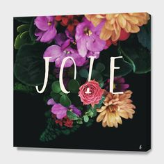 """""""Joie"""", Numbered Edition Canvas Print by Galaxy Eyes - From $89.00 - Curioos"""