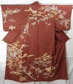 Eye-Catching Japanese Classical Pattern Houmongi