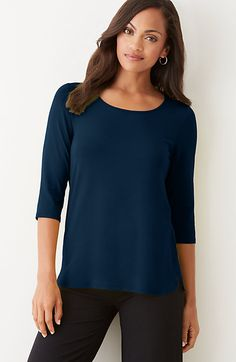 Wearever shirttail top
