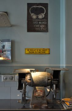 photos © Cosmin Dragomir The 'Atelier Mecanic' or Mechanical Workshop, in English, is a bar in the Old Town of Bucharest, Romania. Cafe Restaurant, Restaurant Design, Retail Concepts, Industrial Design, Coffee Shop, Kitchen Appliances, Interior Design, Mechanical Workshop, Spaces
