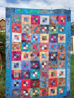 1000 Images About Scrappy Batik Quilts On Pinterest
