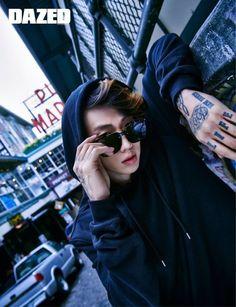Jay Park Poses for Dazes and Confused Magazine Jay Park, Park Jaebeom, 2ne1, Namjoon, Taehyung, Jimin, Rapper, Jaebum, Hip Hop