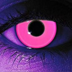 Rave Pink Contact Lens at GothikaContactLenses.com!