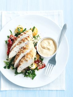 Spiced Chicken with Couscous via Donna Hay