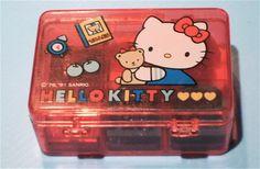 Hello Kitty stamp set <3