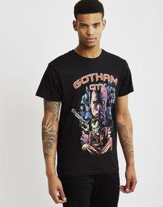 Eleven Paris Gotham T-Shirt Black | Shop men's clothing at The Idle Man Eleven Paris, Gotham, Men's Clothing, Contemporary Style, Parisian, Man Shop, Mens Tops, T Shirt, Clothes