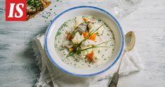 Kansallisen kalakeittopäivän kunniaksi voi kokeilla vaikka kalakeittokilpailun voittanutta ohjetta. Cheeseburger Chowder, Tuli, Thai Red Curry, Soup, Cooking Recipes, Ethnic Recipes, Photography, Photograph, Chef Recipes