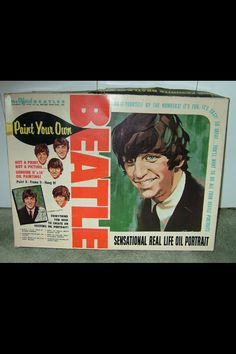 "Ringo ""Paint By Numbers"" unopened box from 1964, paint your own Ringo!"