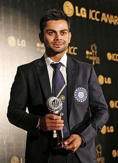 Virat Kohli ODI Cricketer of the year 2012
