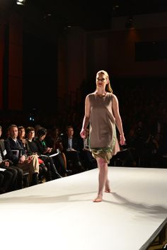 Emily Marie Karstoff, Graduate Runway Fashion Collection at Redefining Design 2014. The School of Fashion at Seneca College. #RedefiningDesign