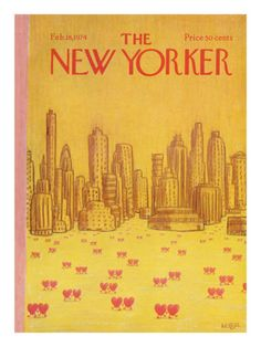 The New Yorker Cover - February 18, 1974 Poster Print by Robert Weber at the Condé Nast Collection