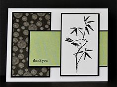 SC320- A Little Birdie Thanked You by Chautona - Cards and Paper Crafts at Splitcoaststampers