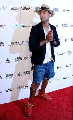 The 13 Best-Dressed Men of 2013: Pharrell Williams