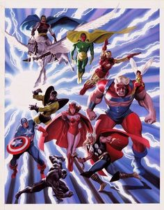 The Avengers by John Buscema and Alex Ross