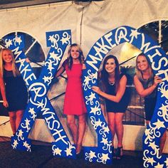 Chi Omega Make-A-Wish letters