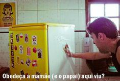Transformando uma geladeira