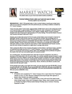 MarketWatch is in - home prices continue to rise!