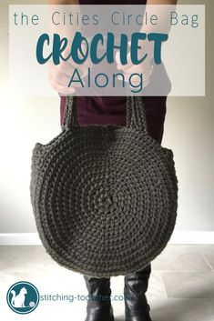 Aren t you loving these circle bags  Now you can join this fun crochet 683ed590f54b