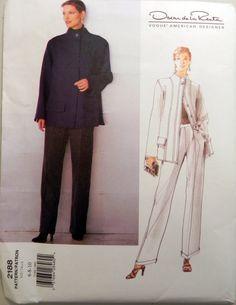 Oscar de la Renta Jacket and Pants sewing by retroactivefuture