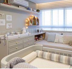 Bebê Room Design Bedroom, Baby Bedroom, Nursery Design, Nursery Room, Kids Bedroom, Newborn Room, Nursery Inspiration, Baby Decor, Home Staging