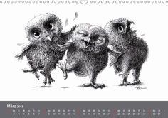 owls & friends 2015 - CALVENDO Kalender von Stefan Kahlhammer