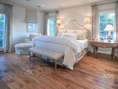off white bedroom with upholstered furniture - Google Search