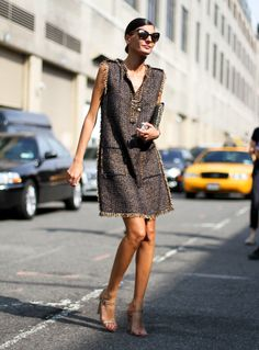 Giovanna Battaglia. New York Fashion Week Street style Spring 2014