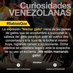 #curiosidades de mi patria