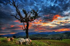 HDR Sunset By Yury