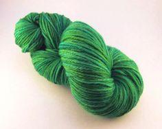 Oh Tananbaum Hand Painted Worsted Yarn Hand by BrewCityYarns