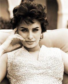Sophia Loren 1950's