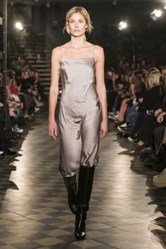 The complete Filippa K Stockholm Fall 2018 fashion show now on Vogue Runway.