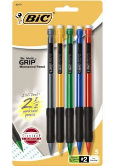 Bic Mechanical Pencils - Save time without sharpening.    #LanceBacktoSchoolChecklist