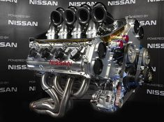 Nissan VK56DE. New engine for the Australian V8 Supercars series.