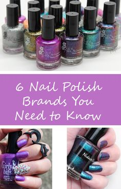 Phyrra shares the 6 cruelty free indie nail polish brands you seriously need to know about! Want people to ask you where you got your nail polish? These are attention grabbers!