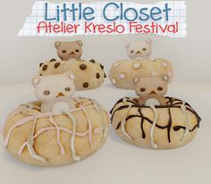 Little Closet Bear Donuts | Flickr - Photo Sharing!