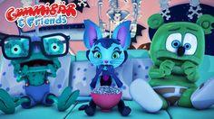 "Gummy Bear Show ""Creepy Creature of Nightmare Creek"" Episode 22 Gummibär..."