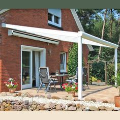 Weranda Gardendreams Giga z dachem szklanym (Aluminium terrace roofing with glass) 200 cm