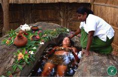 Herbal bath Really interesting site Ayurveda, Sri Lanka, Health Care Options, Spiritual Bath, Spiritual Growth, Mental Health Journal, Reflexology Massage, Diy Spa, Holistic Healing