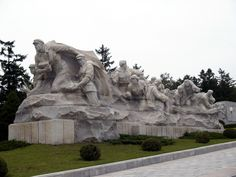 North Korea. Taesongsan Revolutionary Martyrs' Cemetery is a cemetery and memorial to the North Korean soldiers fighting for freedom and independence against Japanese rule. Built in 1975, it is located near the top of Mount Taesong (Taesongsan) in the Taesong-guyŏk, just outside Pyongyang.