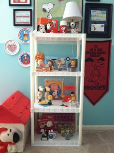 1980s McDonald's Peanuts Gang glasses, 1970s Snoopy radio, 60s-70s Red Baron game, 70s Avon Snoopy soap dishes, lunchbox & thermos, lamp and more....#vintage #snoopy