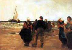 Willem de Zwart,  Return of the Fleet