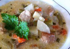 Cukkini Virág gasztroblog - receptek és tippek: Tárkonyos raguleves csicsókával/ Soup with Jerusalem artichoke and tarragon
