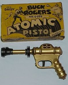 Buck Rogers Atomic Pistol Toy Space Gun - in my opinion, the hail grail of sci fi stuff!