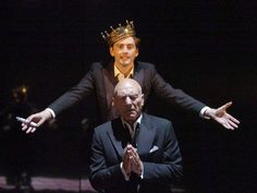 David Tennant and Patrick Stewart in Hamlet (RSC). My favorite Shakespeare play, two of my favorite actors. Well, this should be absolutely awesome!