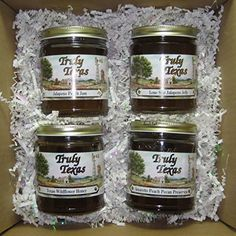 Taste of Texas Jelly & Honey Variety Holiday Christmas Gift Pack